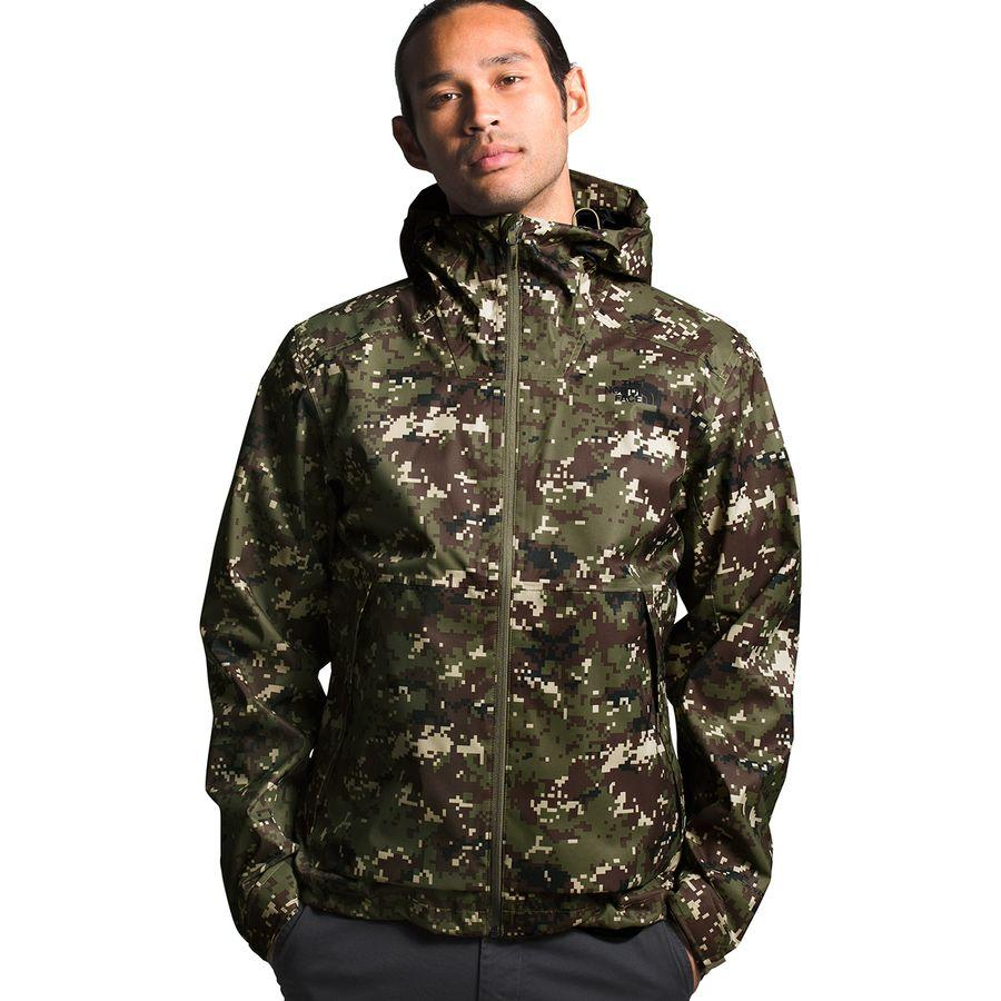 (取寄)ノースフェイス メンズ ミラートン ジャケット The North Face Men's Millerton Jacket Burnt Olive Green UX Digi Camo Print