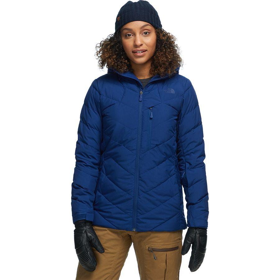 (取寄)ノースフェイス レディース コアファイア フーデッド ダウン ジャケット The North Face Women Corefire Hooded Down Jacket Flag Blue