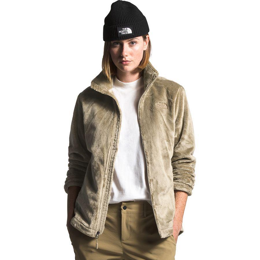 【クーポンで最大2000円OFF】(取寄)ノースフェイス レディース Osito フリース ジャケット The North Face Women Osito Fleece Jacket Twill Beige