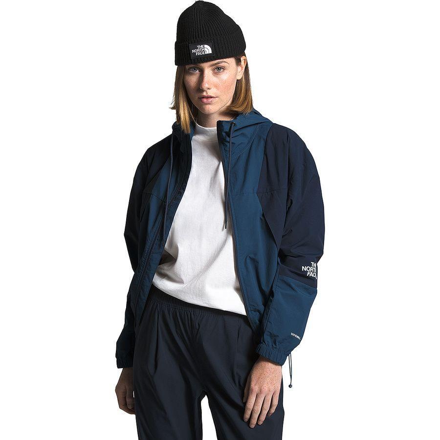 (取寄)ノースフェイス レディース ペリル ウインド ジャケット The North Face Women Peril Wind Jacket Shady Blue/Urban Navy
