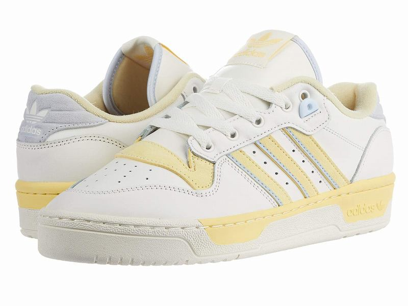 (取寄)アディダス オリジナルス メンズ アディダス オリジナル ライバルリ ロウ  adidas originals Men's adidas Originals Rivalry Low Cloud White/Off-White/Easy Yellow