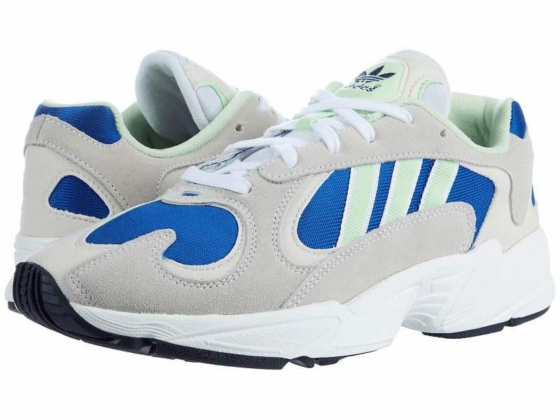 (取寄)アディダス オリジナルス メンズ アディダス オリジナル ユン adidas originals Men's adidas Originals Yung Footwear White/Glow Green/Collegiate Royal