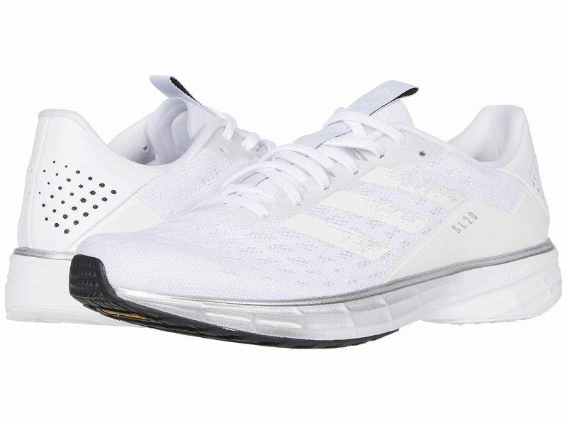 (取寄)アディダス レディース ランニング SL20 ランニングシューズ adidas Women Running SL20 Footwear White/Core White/Core Black