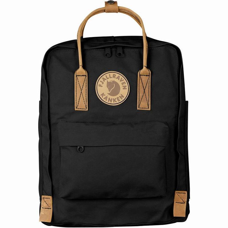 【エントリーでポイント5倍】(取寄) フェールラーベン ユニセックス カンケン No.216L バックパック Fjallraven Men's Kanken No.2 16L Backpack Black