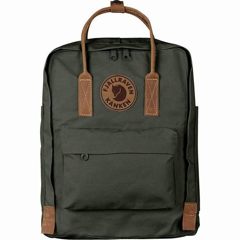 (取寄) フェールラーベン カンケン No.216L バックパック リュック バッグ Fjallraven Men's Kanken No.2 16L Backpack Deep Forest