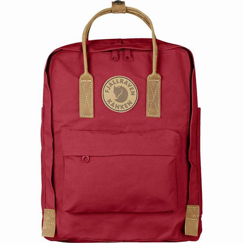 (取寄) フェールラーベン ユニセックス カンケン No.216L バックパック Fjallraven Men's Kanken No.2 16L Backpack Deep Red