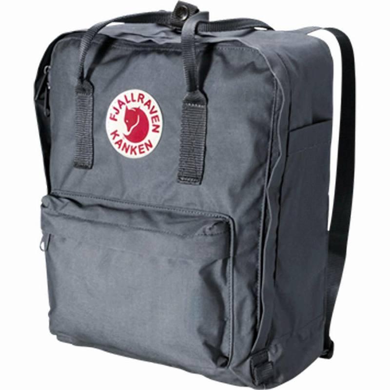 (取寄) フェールラーベン カンケン 16L バックパック リュック バッグ Fjallraven Men's Kanken 16L Backpack Graphite
