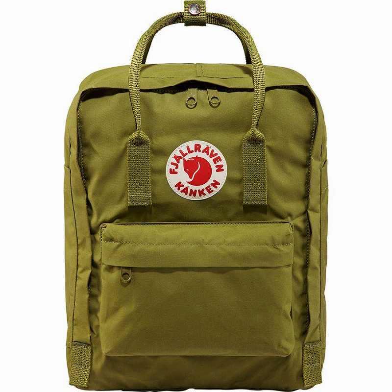 【エントリーでポイント5倍】(取寄) フェールラーベン ユニセックス カンケン 16L バックパック Fjallraven Men's Kanken 16L Backpack Guacamole