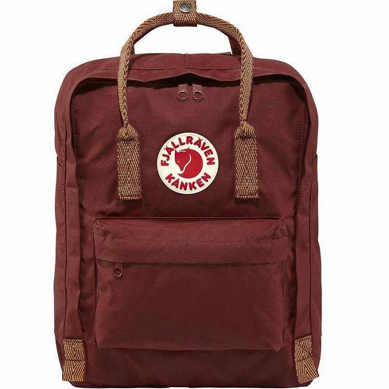 【エントリーでポイント5倍】(取寄) フェールラーベン ユニセックス カンケン 16L バックパック Fjallraven Men's Kanken 16L Backpack Ox Red/Goose Eye