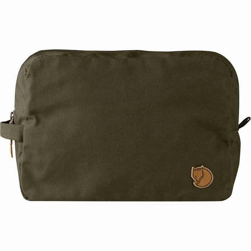 【エントリーでポイント5倍】(取寄) フェールラーベン ユニセックス ギア 4Lオーガナイザー バッグ Fjallraven Men's Gear 4L Organizer Bag Dark Olive
