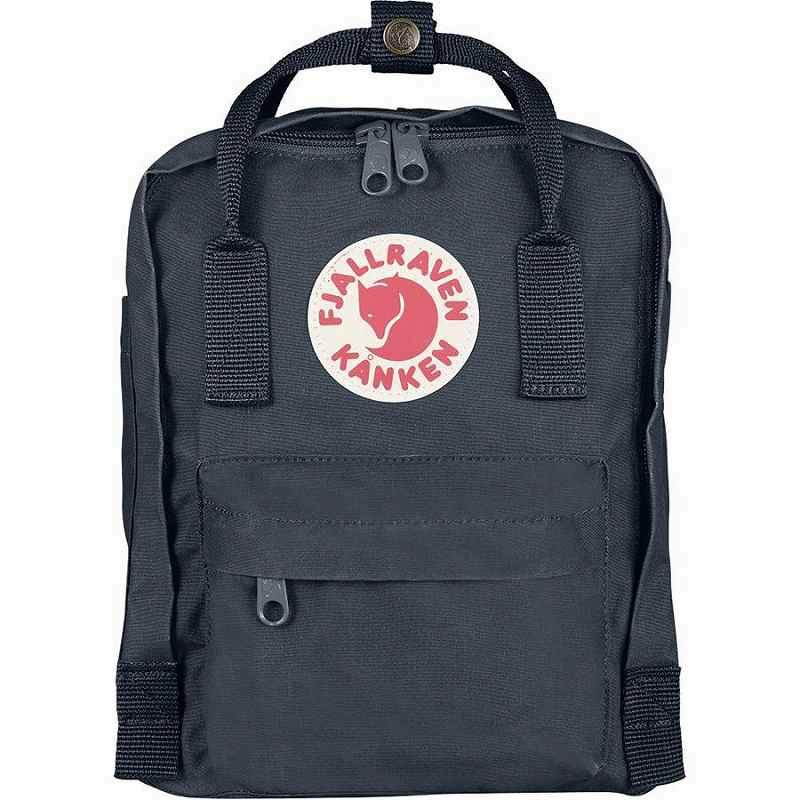 【エントリーでポイント5倍】(取寄) フェールラーベン ユニセックス カンケン ミニ 7L バックパック Fjallraven Men's Kanken Mini 7L Backpack Graphite