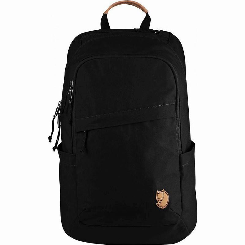 【エントリーでポイント5倍】(取寄) フェールラーベン ユニセックス レイブン 20L バックパック Fjallraven Men's Raven 20L Backpack Black