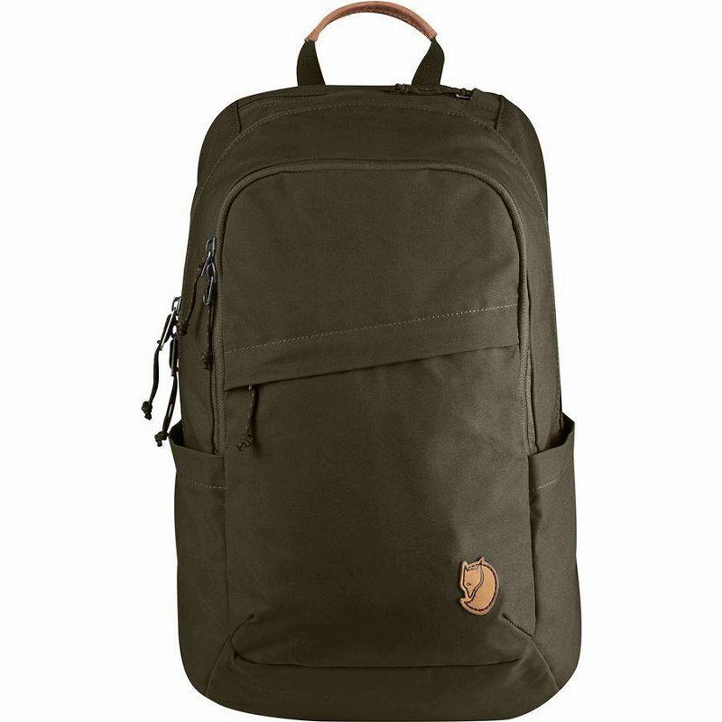 【エントリーでポイント5倍】(取寄) フェールラーベン ユニセックス レイブン 20L バックパック Fjallraven Men's Raven 20L Backpack Dark Olive