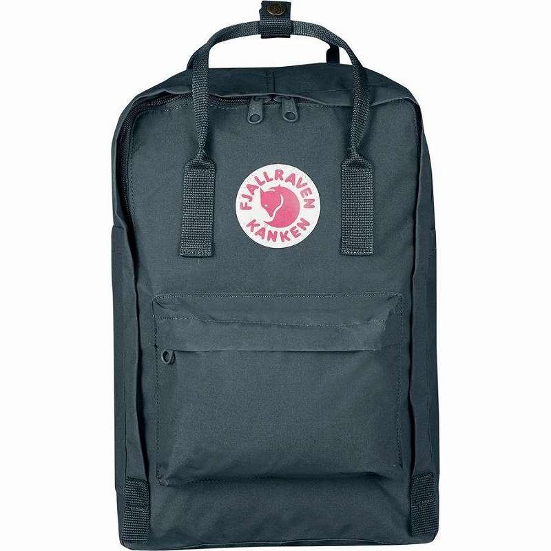 (取寄) フェールラーベン ユニセックス カンケン 15inラップトップ バックパック Fjallraven Men's Kanken 15in Laptop Backpack Graphite