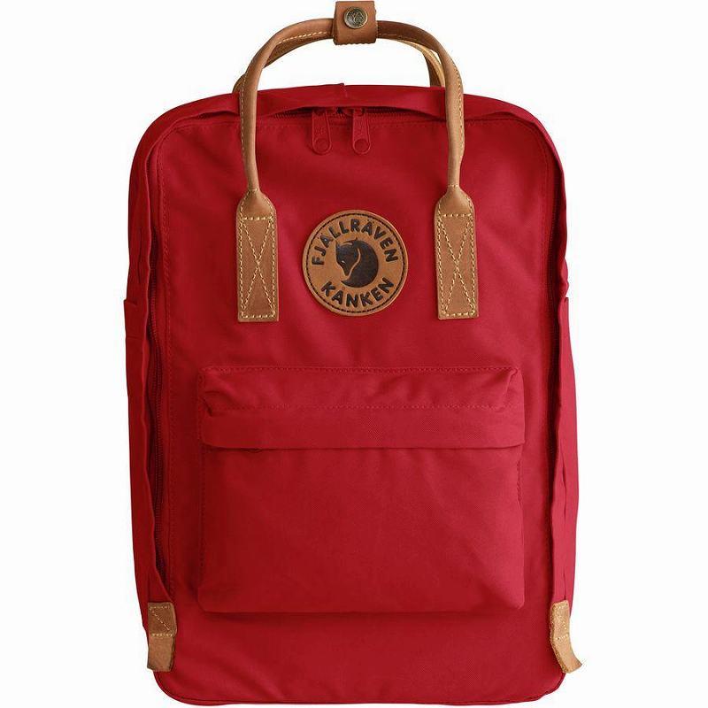 【エントリーでポイント5倍】(取寄) フェールラーベン ユニセックス カンケン No.215inラップトップ バックパック Fjallraven Men's Kanken No.2 15in Laptop Backpack Deep Red