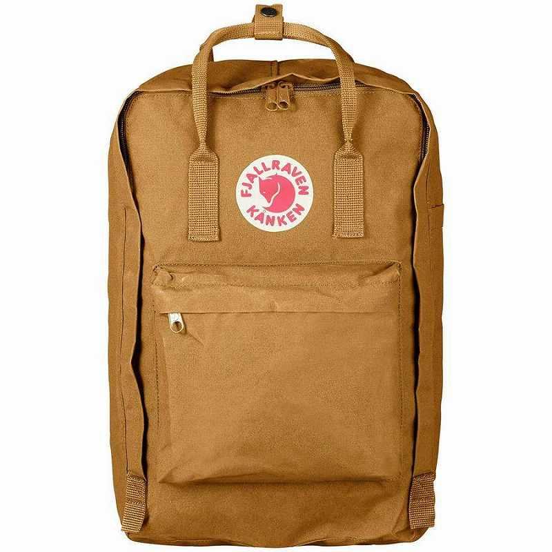 (取寄) フェールラーベン カンケン ラップトップ 17in バックパック リュック バッグ Fjallraven Men's Kanken Laptop 17in Backpack Acorn