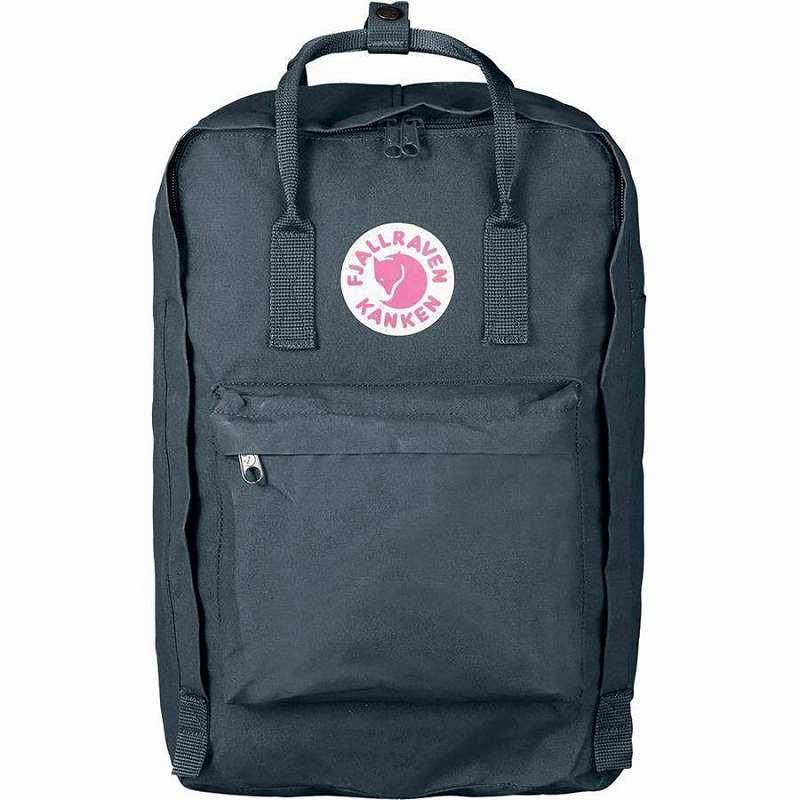 【エントリーでポイント5倍】(取寄) フェールラーベン ユニセックス カンケン ラップトップ 17in バックパック Fjallraven Men's Kanken Laptop 17in Backpack Graphite