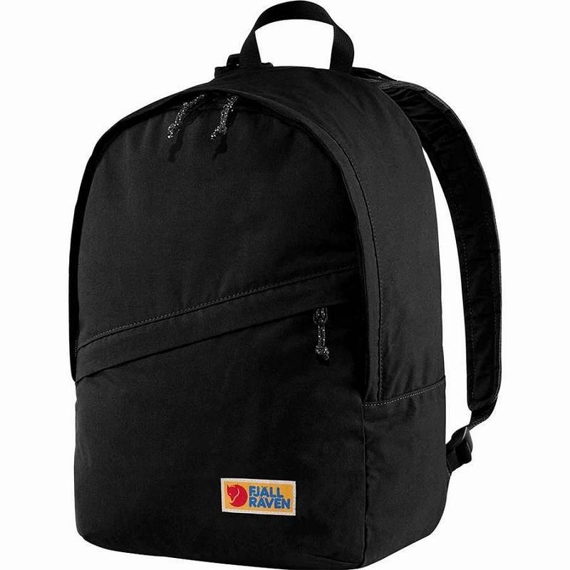 【エントリーでポイント5倍】(取寄) フェールラーベン ユニセックス ヴァーダグ 25 バックパック Fjallraven Men's Vardag 25 Backpack Black