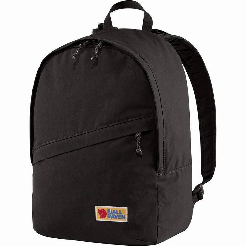 【エントリーでポイント5倍】(取寄) フェールラーベン ユニセックス ヴァーダグ 16 バックパック Fjallraven Men's Vardag 16 Backpack Black