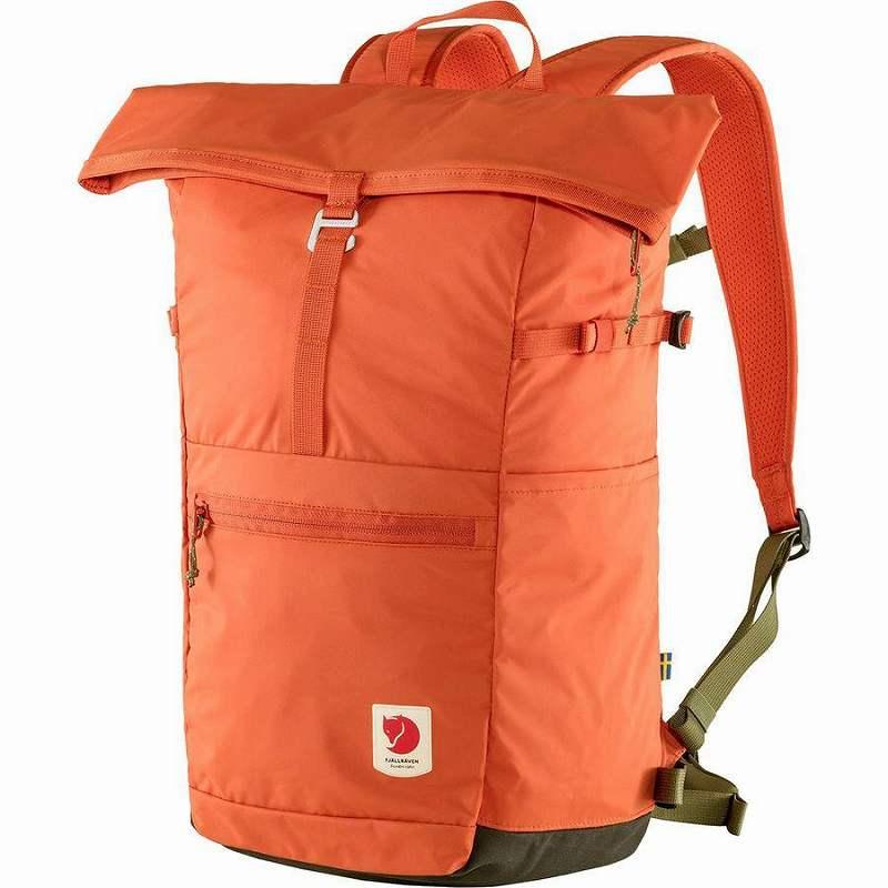 【エントリーでポイント5倍】(取寄) フェールラーベン ユニセックス ハイ コースト Foldsack 24L バックパック Fjallraven Men's High Coast Foldsack 24L Backpack Rowan Red