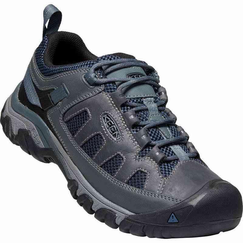【クーポンで最大2000円OFF】(取寄)キーン メンズ ターギー ベント ハイキング シューズ KEEN Men's Targhee Vent Hiking Shoe Steel Grey/Majolica Blue