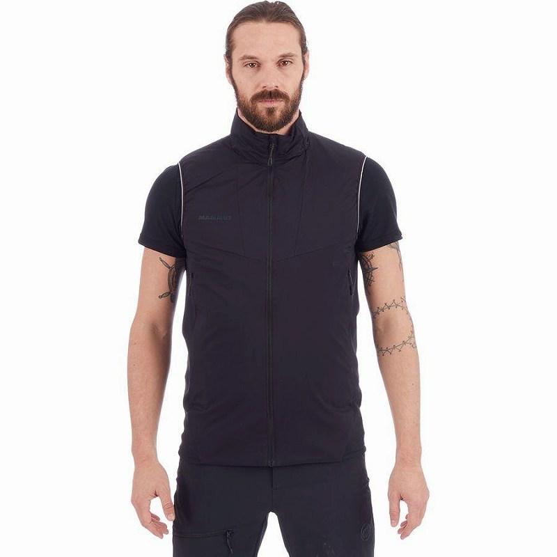 (取寄)マムート メンズ ライム ライト イン フレックス ベスト Mammut Men's Rime Light IN Flex Vest Black