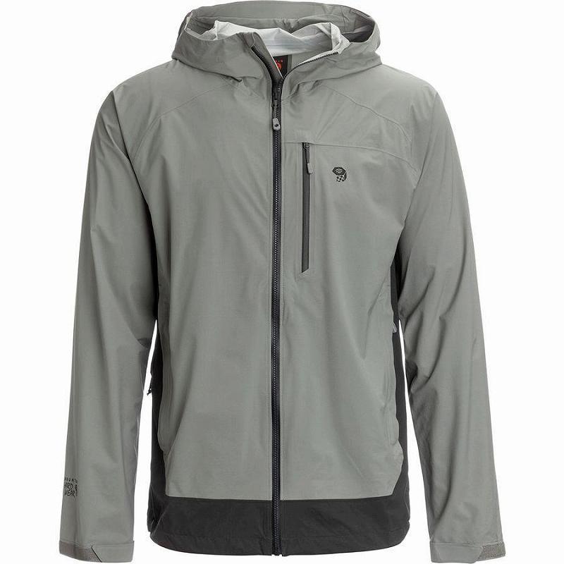 (取寄)マウンテンハードウェア メンズ ストレッチ オゾニック ジャケット Mountain Hardwear Men's Stretch Ozonic Jacket Manta Grey