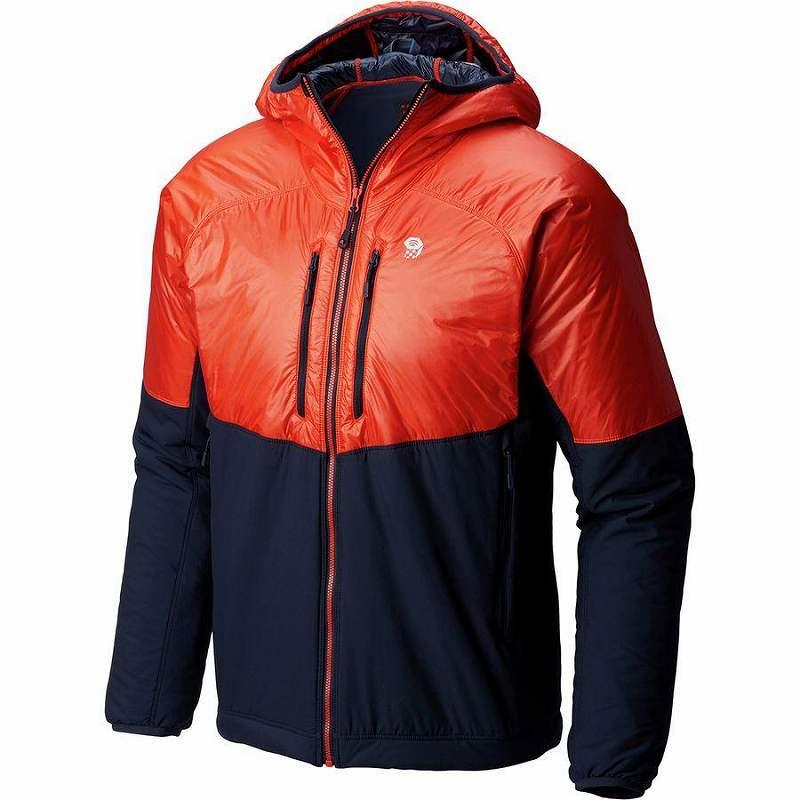 (取寄)マウンテンハードウェア メンズ Korストラタ アルパイン フーデッド ジャケット Mountain Hardwear Men's Kor Strata Alpine Hooded Jacket Fiery Red