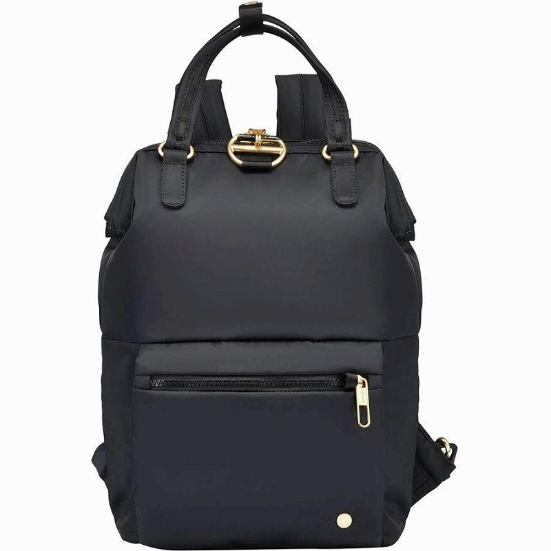 【エントリーでポイント5倍】(取寄)パックセーフ ユニセックス シティセーフ CXミニ バックパック Pacsafe Men's Citysafe CX Mini Backpack Black