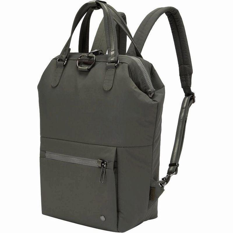 【エントリーでポイント5倍】(取寄)パックセーフ ユニセックス シティセーフ CXミニ バックパック Pacsafe Men's Citysafe CX Mini Backpack Econyl Storm