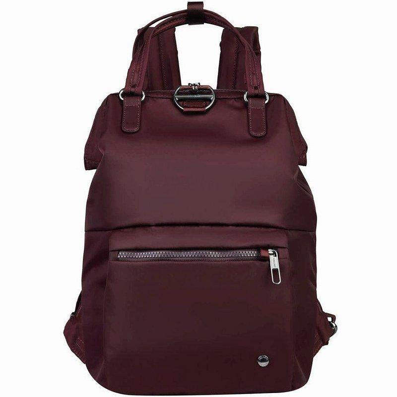 (取寄)パックセーフ シティセーフ CXミニ バックパック リュック バッグ Pacsafe Men's Citysafe CX Mini Backpack Merlot