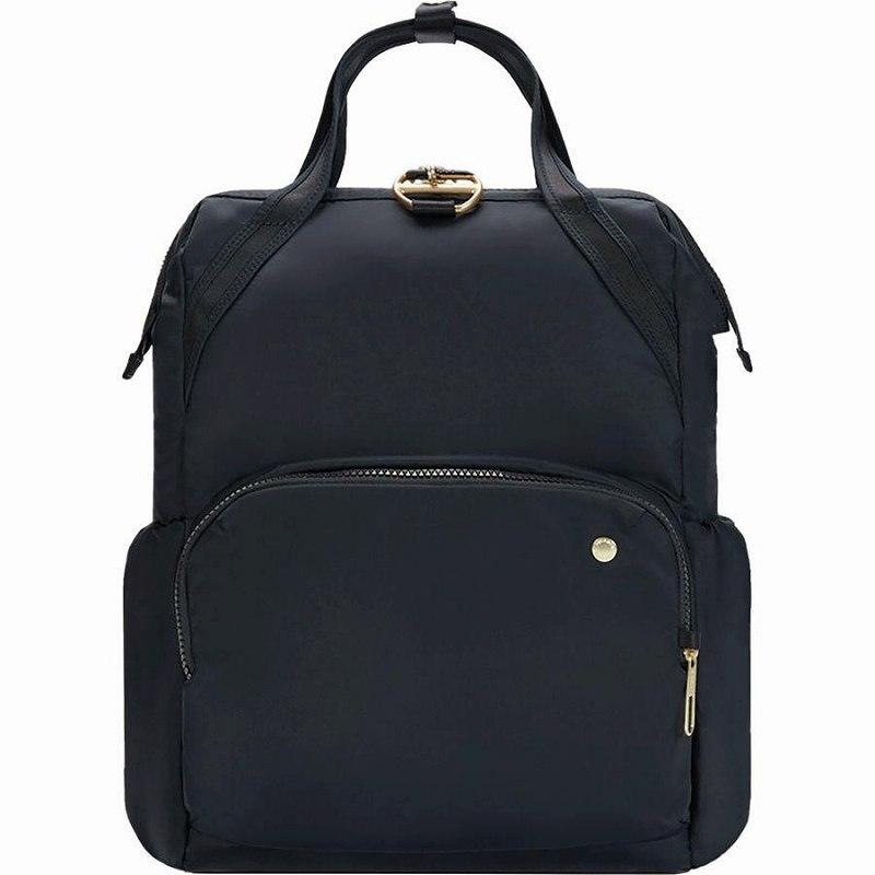 【エントリーでポイント5倍】(取寄)パックセーフ ユニセックス シティセーフ CX バックパック Pacsafe Men's Citysafe CX Backpack Black