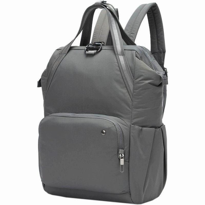 (取寄)パックセーフ シティセーフ CX バックパック リュック バッグ Pacsafe Men's Citysafe CX Backpack Econyl Storm
