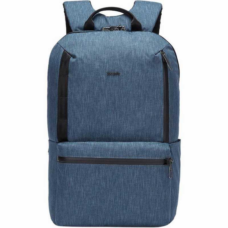 【エントリーでポイント5倍】(取寄)パックセーフ ユニセックス メトロセーフ X 20L バックパック Pacsafe Men's Metrosafe X 20L Backpack Dark Denim