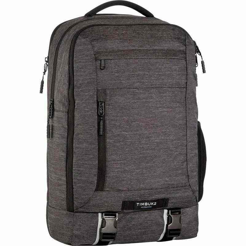 【エントリーでポイント5倍】(取寄)ティンバックツー ユニセックス オーソーリティ 28Lラップトップ パック Timbuk2 Men's Authority 28L Laptop Pack Jet Black Static