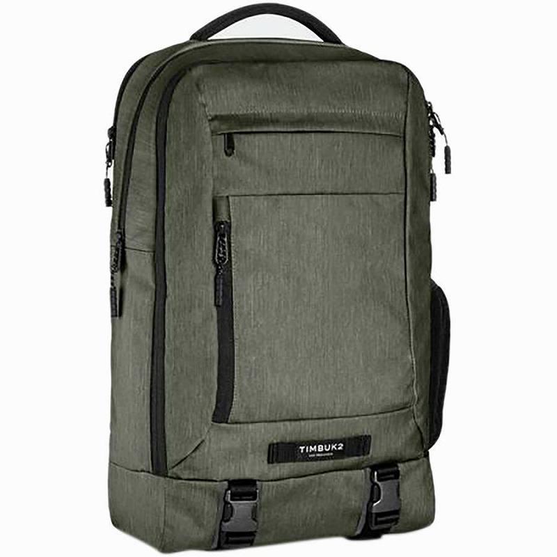 【エントリーでポイント5倍】(取寄)ティンバックツー ユニセックス オーソーリティ 28Lラップトップ パック Timbuk2 Men's Authority 28L Laptop Pack Moss