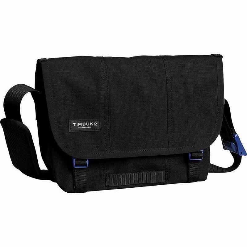 (取寄)ティンバックツー ユニセックス フライト クラシック メッセンジャー バッグ メッセンジャーバッグ Timbuk2 Men's Flight Classic Messenger Bag Jet Black/Blue Wish