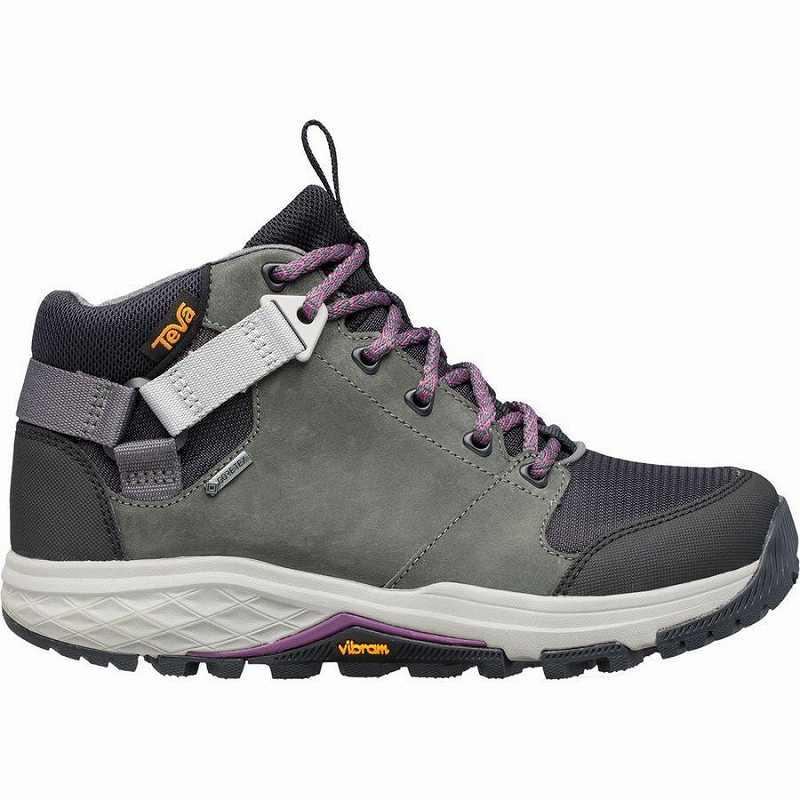 【クーポンで最大2000円OFF】(取寄)テバ レディース グランドビュー Gtx ハイキング ブーツ Teva Women Grandview GTX Hiking Boot Dark Shadow