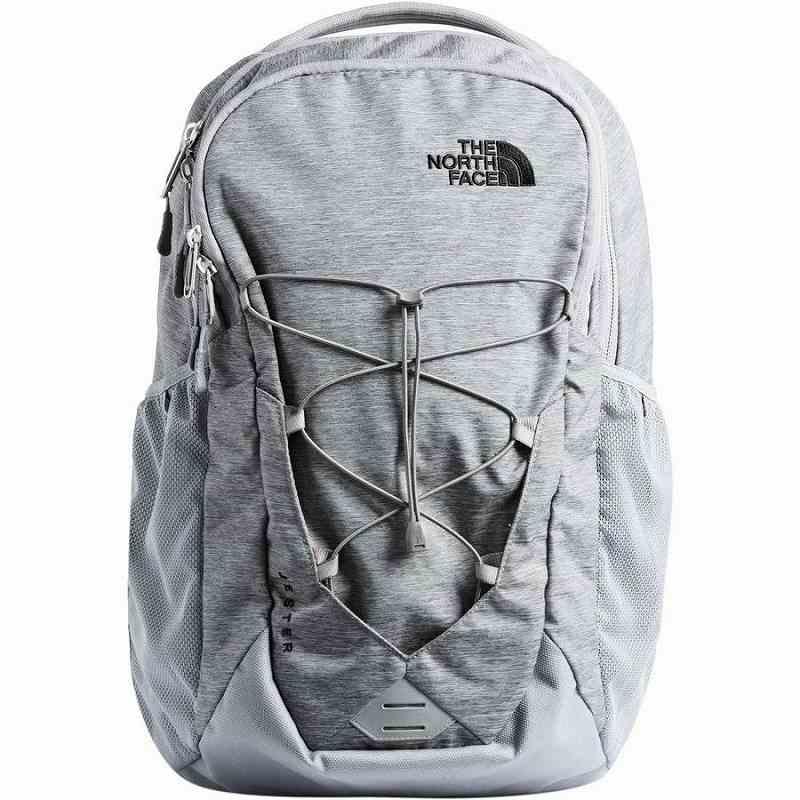 【エントリーでポイント5倍】(取寄)ノースフェイス ユニセックス ジェスター 26L バックパック The North Face Men's Jester 26L Backpack Mid Grey Dark Heather/Tnf Black