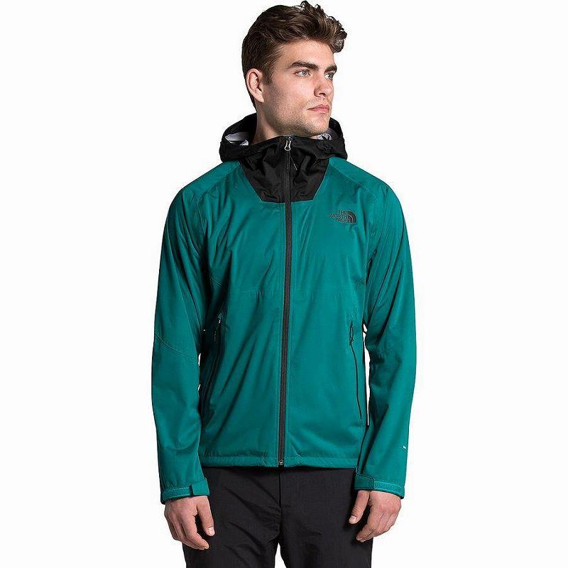 (取寄)ノースフェイス メンズ オールプルーフ ストレッチ ジャケット The North Face Men's Allproof Stretch Jacket Fanfare Green/Tnf Black