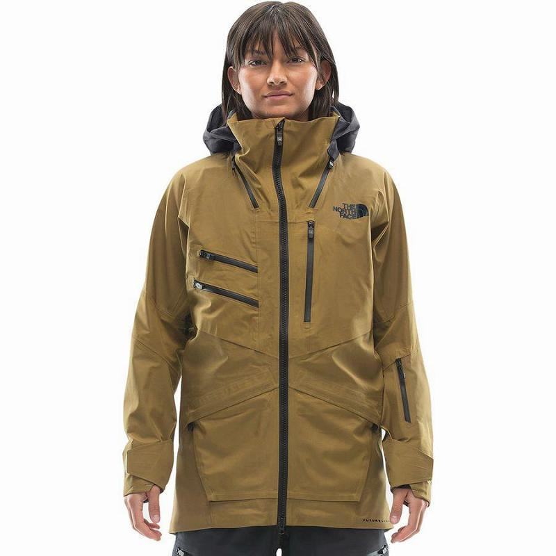 (取寄)ノースフェイス レディース ブリガンダイン フューチャーライト ジャケット The North Face Women Brigandine FUTURELIGHT Jacket British Khaki Fuse/Weathered Black Fuse