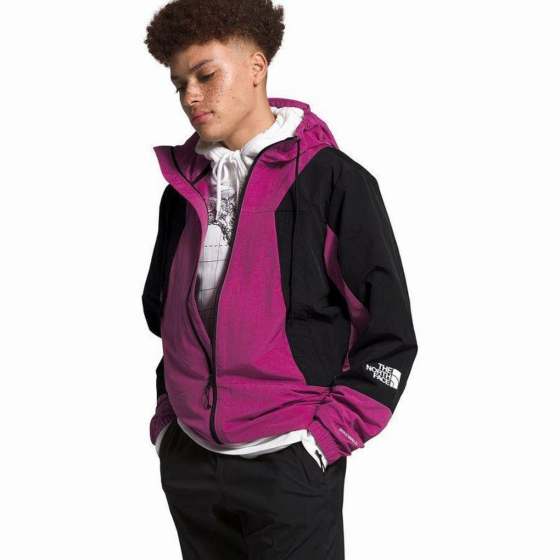 (取寄)ノースフェイス メンズ ペリル ウインド ジャケット The North Face Men's Peril Wind Jacket Wild Aster Purple/Tnf Black