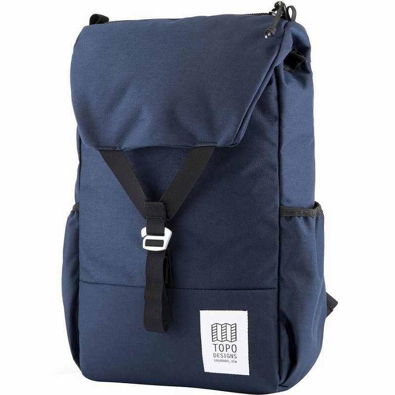 (取寄)トポデザイン Y-Pack 17L バックパック リュック バッグ Topo Designs Men's Y-Pack Backpack Navy