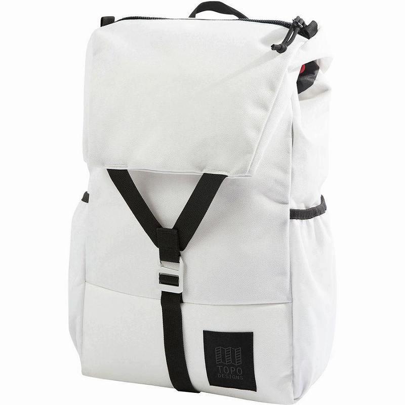 (取寄)トポデザイン ユニセックス Y-Pack 17L バックパック Topo Designs Men's Y-Pack Backpack White/White