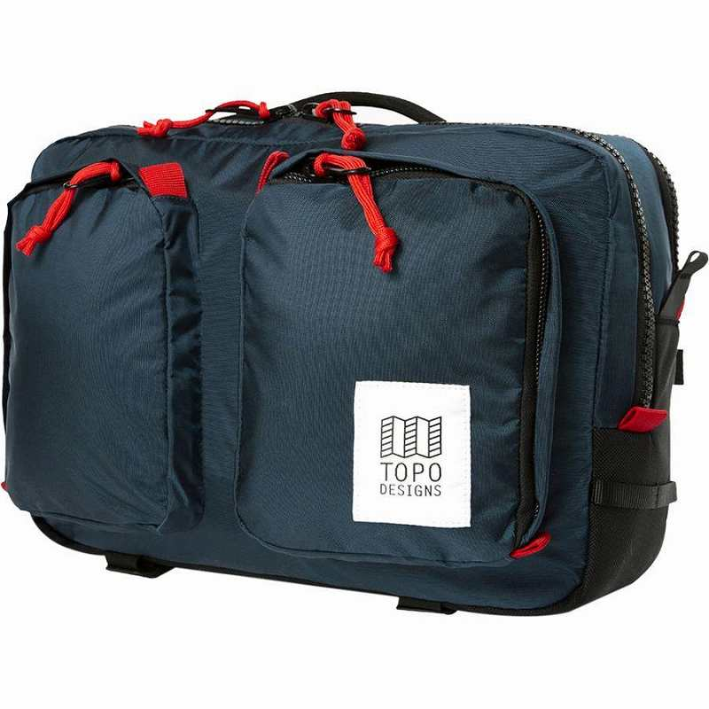 (取寄)トポデザイン ユニセックス グローバル 14L ブリーフケース Topo Designs Men's Global 14L Briefcase Navy