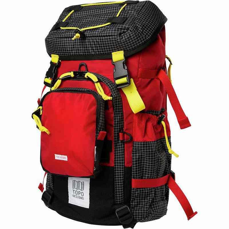 (取寄)トポデザイン ユニセックス サブアルパイン 28L パック Topo Designs Men's Subalpine 28L Pack Red