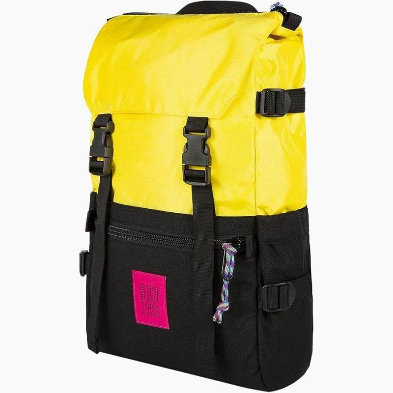 (取寄)トポデザイン ユニセックス ローバー 20L バックパック Topo Designs Men's Rover 20L Backpack Yellow/Black