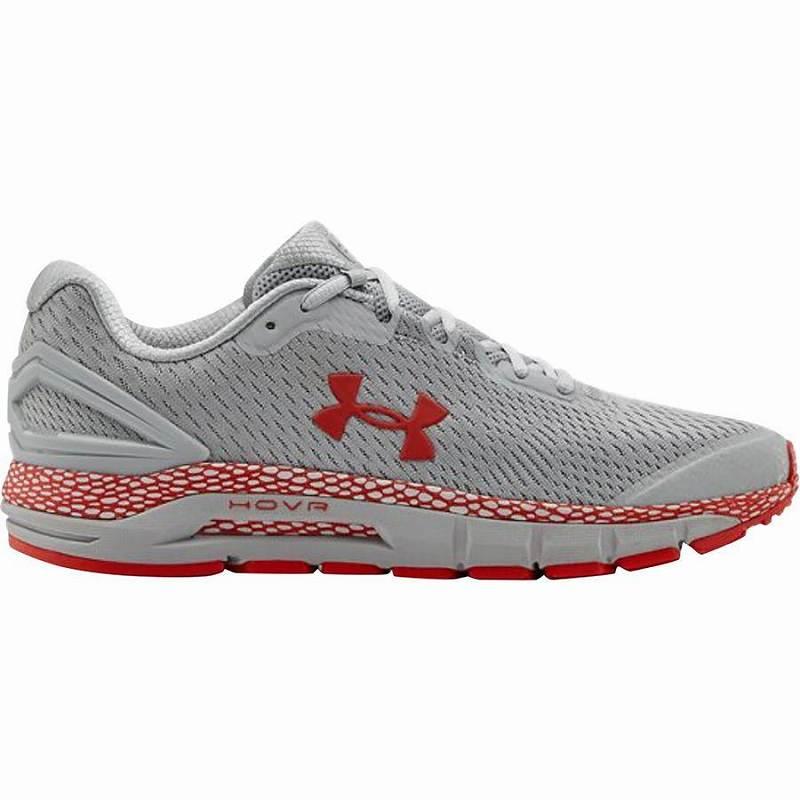 【クーポンで最大2000円OFF】(取寄)アンダーアーマー メンズ ホバー ガーディアン 2 ランニング シューズ Under Armour Men's HOVR Guardian 2 Running Shoe Running Shoes Mod Gray/Versa Red/Versa Red