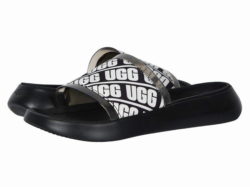 (取寄)アグ レディース リュエット スライド UGG Women Ruette Slide Black