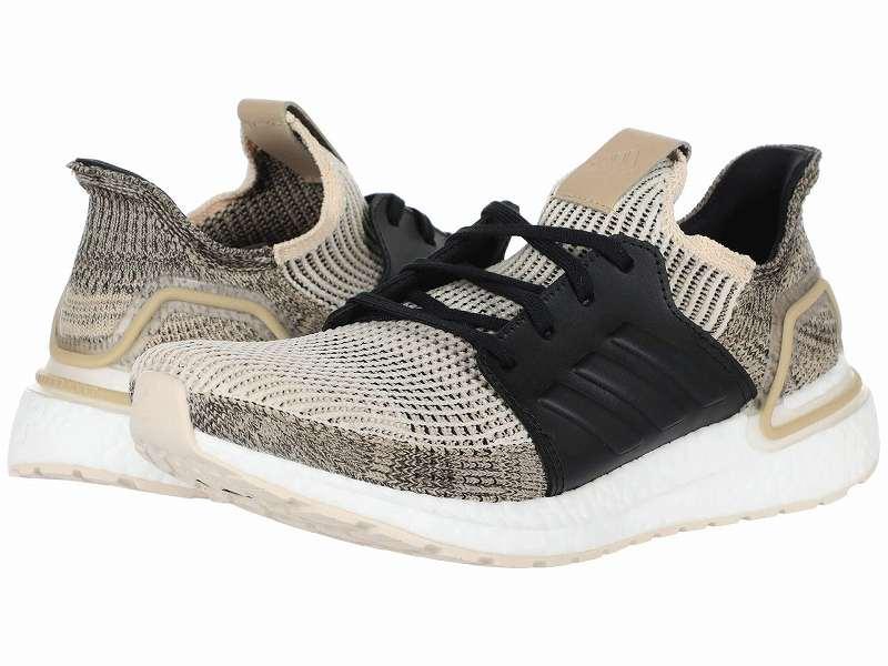 【クーポンで最大2000円OFF】(取寄)アディダス メンズ ランニング ウルトラブースト 19 ランニングシューズ adidas Men's Running Ultraboost 19 Linen/Core Black/Brown